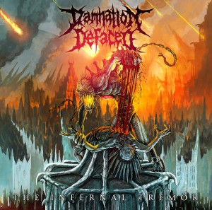 Damnation Defaced The Infernal Tremor Cover